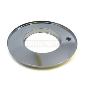 10 Round Chromed Muscle Car Air Cleaner Base Only Bottom Chevy Ford Mopar Rod