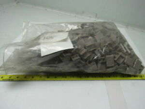 Rex 114 125 5 843 Conveyor Belt Top Plate Color Beige 1 3 8 W Lot Of 105