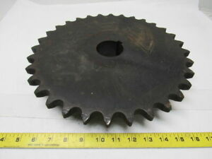 Martin 100b32 Roller Chain Sprocket 32 Tooth 2 1 4 Keyed Bore