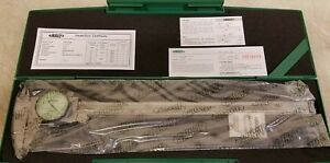 12 Stainless Steel Dial Caliper 001 Insize 1311 12 New In Box