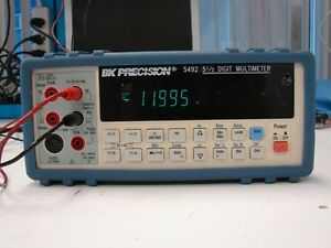 Bk Precision 5492 5 1 2 Digit Bench Multimeter