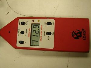 Quest 2400 Sound Level Meter