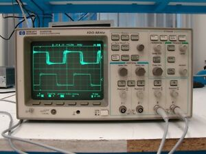 Hewlett Packard 54601b Oscilloscope Digital 100mhz 20msa s 4ch