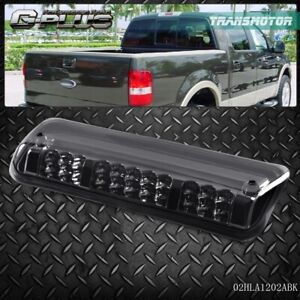 For 2004 2008 F150 Explorer Black Housing Rear 3rd Brake Cargo Led Tail Light