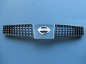 2004 2005 2006 Nissan Quest Front Grill Grille Oem With Emblem Used 04 05 06