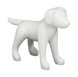 Newtech Display Ma dog3sm wht Small Terrier Dog Mannequin 13 Height 18 Large
