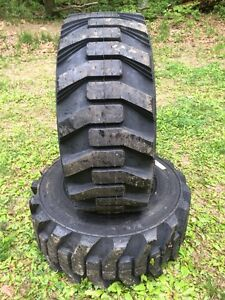 2 New Galaxy Xd2010 12 16 5 Skid Steer Tires For Bobcat Others 12x16 5 12 Ply