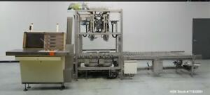 Used Pattyn Model Avl 4 s Automatic Semi liquid Bag in box Weigh Filler 4 head