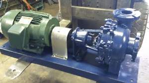 Hayward Gordon Xr3 8 Slurry Pump Sludge Pump Recessed Impeller Wemco