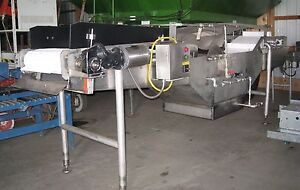 Stainless Steel Intervention Tank With Conveyor