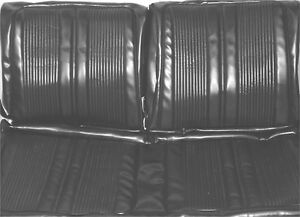 1969 Dodge Coronet 440 Superbee Front Rear Seat Covers Pui