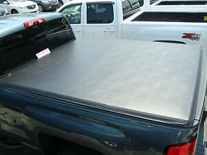 84023761 Chevrolet Silverado Oem 5 8 Short Bed Hard Tri Fold Tonneau Cover New