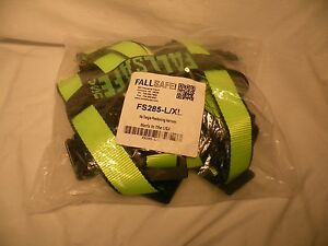 Fall Safe Fs285 l xl No Tangle Three Ring Positioning Harness Large x larg