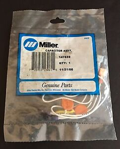 New In Package Miller Genuine Parts Capacitor Assy 147859