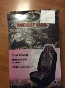 Mossy Oak Camouflage And Pink Universal Seat Cover Car Auto Truck