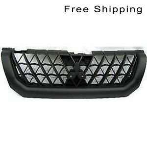 Front Painted Black Grille Fits 2000 01 Mitsubishi Montero Sport Mi1200226