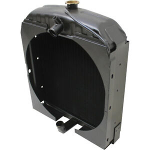 70228587 Radiator For Allis Chalmers Wc Wd Wd45 Gas Tractors