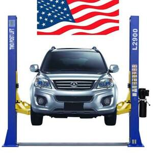 Two Post L 2900 Auto Lift 9 000 Lb Capacity Car Vehicle Lift Free Shipping