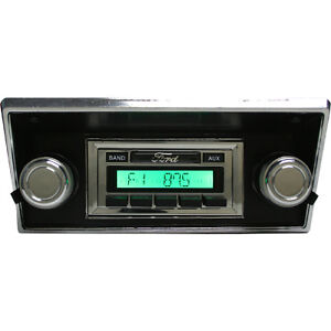 1968 1969 1970 1971 1972 Ford Pick Up Truck Radio Usa 630 Classic Car Stereo
