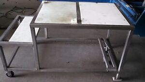 Stainless Steel Polytop Table 7234