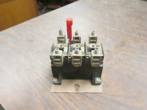 Westinghouse Thermal Overload Relay An 33p 600v 240va 3p Used