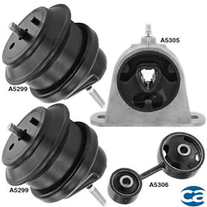 Engine Motor Trans Mount Set 4pcs For Chrysler Pacifica 3 5l 3 8l