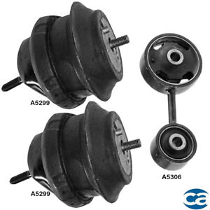 Engine Motor Trans Mount Set 3pcs For Chrysler Pacifica 3 5l 3 8l