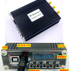Oled Digital Adf5355 54m 13 6ghz Rf Source Generator Frequency Source Moudle