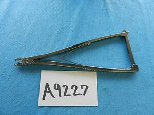 Synthes Surgical Orthopedic 11 1 2in 29 2cm Rod Holding Pliers 388 409
