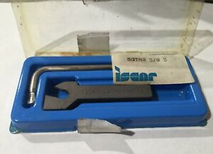 Iscar Sgthr 3 8 3 Self Grip Tool Holder Carbide Inserts Turning Grooving New