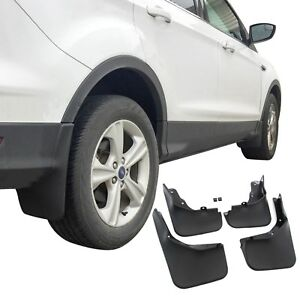 Fits Ford Escape Mud Flaps 13 19 Guards Splash No Running Boards 4 Pc Front Rear