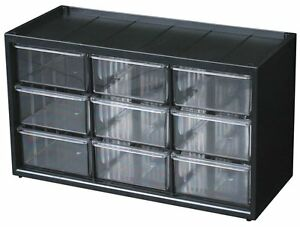 Flambeau 6576nb Parts Storage Drawer Hardware And Craft Cabinet With 9 Drawers