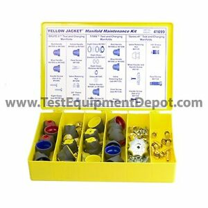 Brand New Yellow Jacket 41099 Manifold Parts Kit For Titan Brute Ii