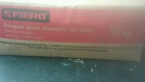 Fiero Gra 1g Barbed Staples 10 Kg 1 Lenght