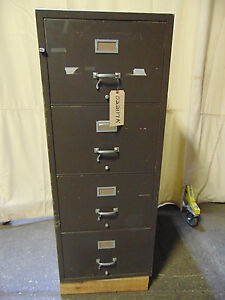 Cmi Insulated File Cabinet 4 Drawers Class 350