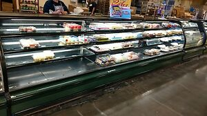 Columbus Open Front 180 Refrigerated Bakery Case needs Remote Compressor