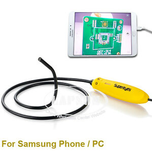 Smart Android Phone Otg Usb Endoscope Camera Borescope Inspection Snake Tube Us