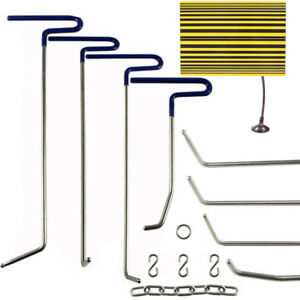 Pdr Tool Paintless Dent Repair Puller Rods Removal Hail Line Board Tap Hammer Us