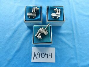 Zimmer Surgical Orthopedic Hoffmann Type External Fixation Pin Clamps Lot Of 3