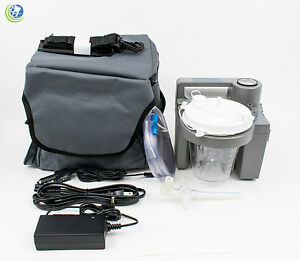 Medical Vet Dental Portable Suction Aspirator Vacuum Pump Unit Battery 7305p d