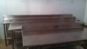 Stainless Steel Table 72 X 30 item7074
