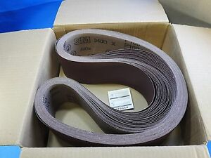 New 3m 25 Sanding Belts 4 x66 P100 340d Cloth Belt An2 Film Lok 60 0001 4633 6