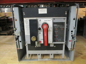 Ge Powerbreak Tc1616ss 1600a 3p 600v Mo do Circuit Breaker W Lsi Used E ok