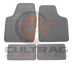 2006 2013 Chevrolet Impala Gm Front Rear Carpet Floor Mats Titanium 15237888