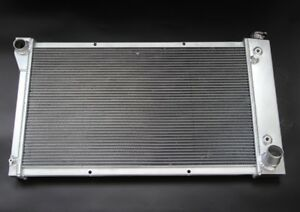 3 Row Radiator Fit 1968 1972 Chevy Pickup Jdn Racing All Aluminum Made