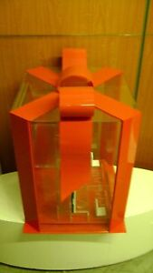 Estee Lauder Clear Acrylic Plastic Retail Display Gift Package Display Case