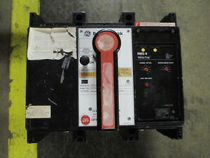 Ge Powerbreak Thp88ss 800a 3p 600v Mo do Circuit Breaker W Li Used As Is