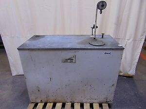 170 Gallon Bulk Oil Tank With Pneumatic Air Pump And Gallon Quart Ga