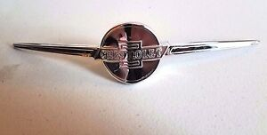 Chevrolet Chevy 1936 Car Bow Tie Radiator Grille Grill Emblem