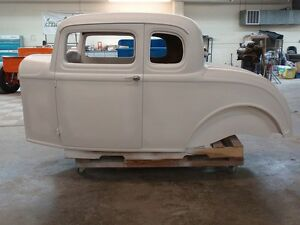 1932 Ford 5 Window Fiberglass Coupe Body Hotrod Streetrod custom